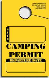 Custom Quote For Campground Registration Forms 4 25 X 5 5