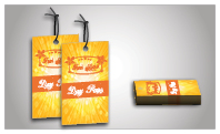 Full Color Product Hang Tags